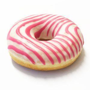 donut malina cheesecake